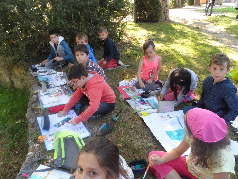 Ecole Eau Vive - Sortie scolaire aux bords de l'Auxance