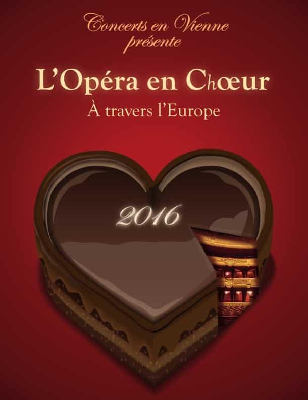 L'opéra en choeur en Vienne