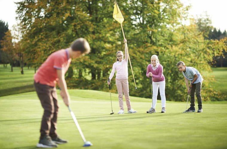 Golf en herbe